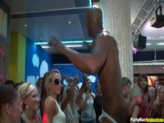 Tipsi Sluts in Hardcore Orgy at Nightclub ...
