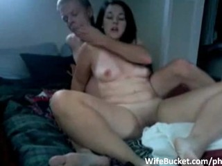 MILF wife licked and fucked