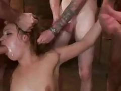 Brutal Bdsm Double Penetration Gangbang! Vol.3 By: Ftw88