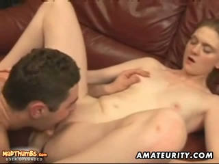 Amateur Babe Takes Cumshot In Her Mouth After Riding On A Cock