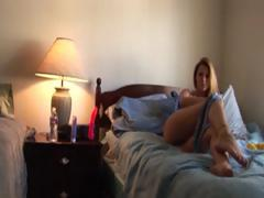 Secret Movie Of My Girlfriend Vibrating