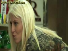 Caught By Some Hidden Cameras A Young Hottie Blonde Gets A Good Humping