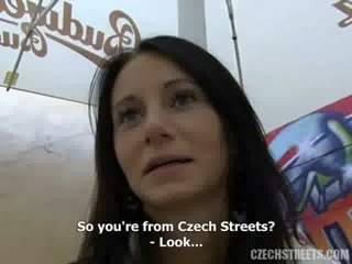 Czech Martina Having A Hardcore Sex With A Stranger She Meets On Street