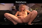 Cam: Horny Blonde Slut Fingering Her Ass
