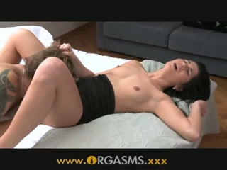 Brunette Teen Having An Intimate Anal Intercourse With Her Lover