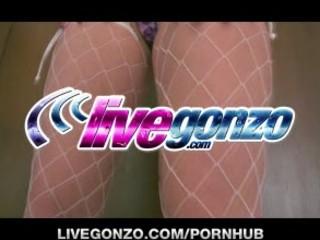 Courtney Cummz ANAL on LiveGonzo