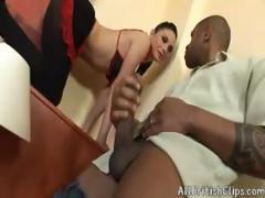European Bitch Gets Her Ass Destroyed By Black(atm,prolapse)  British Euro Brit European Cumshots Swallow