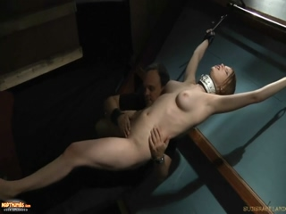 BDSM Blowjob With Whips And Slaps