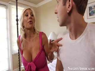 MILF Puma Swede Gets Fucked By A Huge Dick On Naughty America