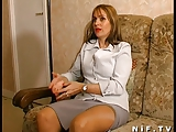 French mom gets anal fucked