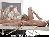 RubATeen - Hotties Massaging, Rubbing and Licking Each Other