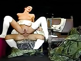 Anal... Sexy Slim Italian Babe Wambammed On Stage... Vintage