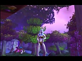 Night Elf lap dance