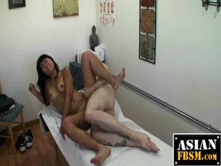 Massage Table Fucking And A Cumshot