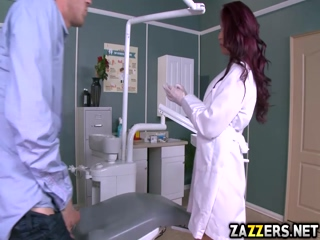 Miss Monique Alexander sucks her patient