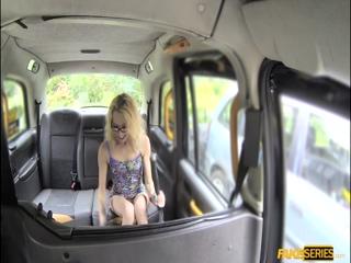 April Paisley deepthroats a drivers cock