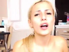 Gorgeous Blonde Babe Masturbation