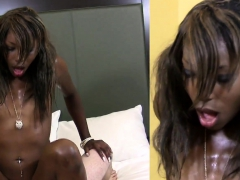Huge Cock For Sultry Black Gal Maya Bijou