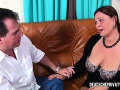 Busty Wife Seduces A Horny Man