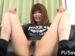 Finger Fucking Luscious Bitch Enjoys Herself