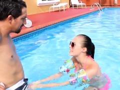 Extra Small Teen Big Tits Swimming In Semen