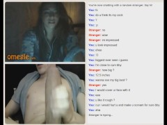 Omegle shocked girl tease me :)