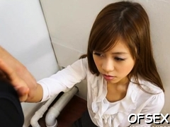 Shy Chick Enchants Her Mature Colleague In The Office