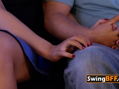 Jittery Swinger Couple Is Decided