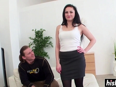 Lovely Hottie Satisfies A Fat Dick