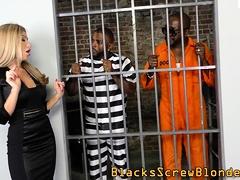 Stockinged Whore Gets Rod