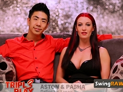 Fresh Interracial Swinger Couple