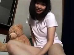 Cute 18yo Asian Teen Masturbate