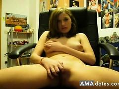 Young Girl Masturbate On Cam