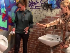 Gloryhole Oral-service Action With Stunner Getting All Slimy