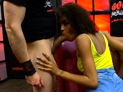 Ebony Brazilian Beauty In Hard Actions With Big Dicks