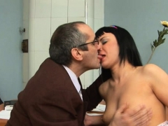 Lewd Mature Teacher Fucks Nasty Hottie Senseless