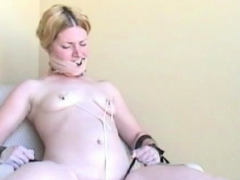 Shy Girl Gets Fastened Up And Manhandled In Servitude Scene