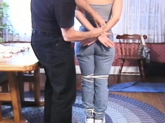 Hardcore Tits Torture And Butt Spanking For Ballgagged Doxy