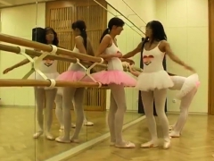 Gorgeous Petite Blonde Hot Ballet Damsel Orgy