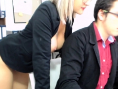 Lucky Is A Hot Blonde Teen Who Has Big Boobs And
