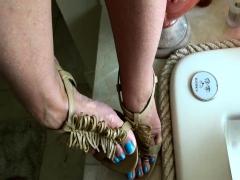 Foot Fetish Therapy Footjob Handjob And Great Cumshot