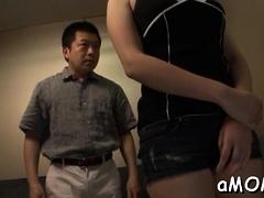 Appealing Oriental Milf Works Wang In Mind Blowing Scenes