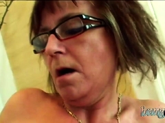 Nerdy Granny Was Craving For This Fuck Too Long