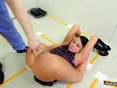 Extreme Deep Anal Masturbation Talent Ho
