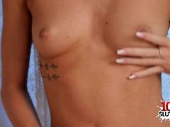 Small Tits Pornstar Sex And Cumshot