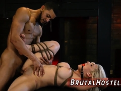 Young Rough Anal Hd Big-breasted Platinum-blonde Beauty