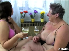 Fat Mature Slut In Lesbian Action
