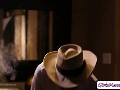 Masseuse Haley Pounds Detective Abellas Pussy