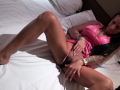 German Brunette Milf With Tattoos Seduced And Cum In Mouth