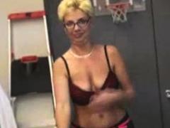 Ebony Pov Handjob Adding Big Oiled Boobs